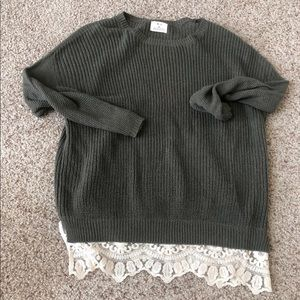 H&M Knit Oversized Sweater